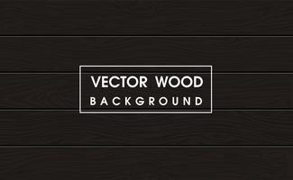 Superficie di legno scura nella vista superiore Per fare il caffè e il cibo sfondo. vettore