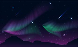 aurora, luci polari, aurora boreale o luci meridionali è una luce naturale nel cielo della Terra,