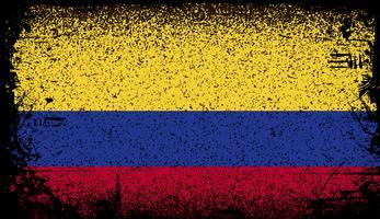 bandiera del grunge di Colombia