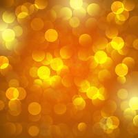 sfondo giallo di Bokeh. sfondo vettoriale