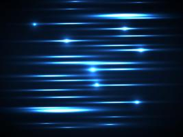 linea blu Sfondo di luce incandescente vettore