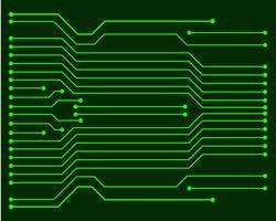 Illustrazione EPS10 del circuito di vettore