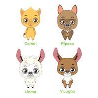 Set di animali da soma