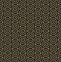 Vector seamless. Moderna trama elegante Ripetendo piastrelle geometriche alla moda con la linea esagonale.