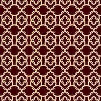 Motivo geometrico linea senza soluzione di continuità. Design grafico contemporaneo. Texture lineare senza fine per carta da parati, riempimenti a motivo, sfondo della linea di pagina web. Ornamento geometrico marrone dorato monocromatico