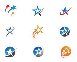 Modello icona stella