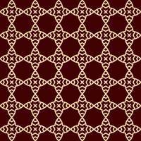 Vector seamless. Moderna trama elegante Ripetendo ornamento lineare
