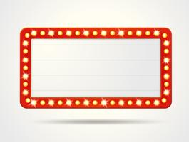 Vector le cornici dell'etichetta di scatole leggere vuote per inserire il tuo testo.