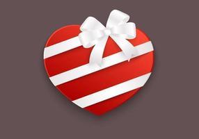 Fondo di vettore della scatola del cuore
