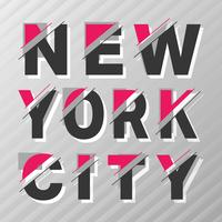 Poster vintage di New York