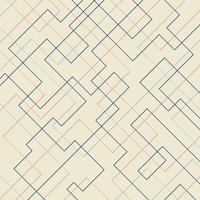 Fondo geometrico lineare sottile di forma e del rettangolo del modello geometrico astratto. Design pulito per carta da parati in tessuto, brochure di copertina, poster, banner web, ecc. vettore