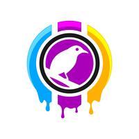 Stampa digitale logo design
