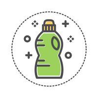 bottiglia di detersivo per bucato