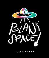 Disegno ufo astronave spazio bianco
