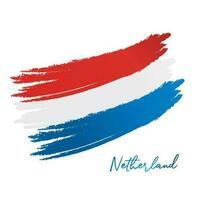bandiera olandese vettore