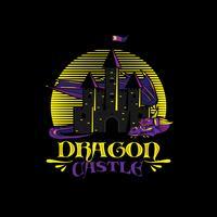 illustrazione di logo del drago