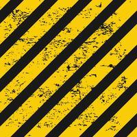 Sfondo di avvertimento del settore vettore