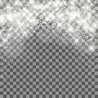 Natale sfondo trasparente vettore