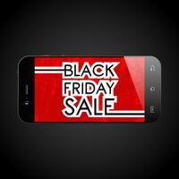 Smartphone di vendita venerdì nero