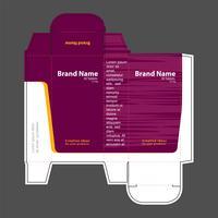 Illustrazione di vettore di concetto della scatola della droga 02