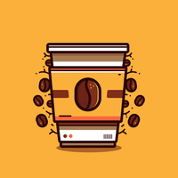 Vettore Clipart del caffè