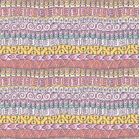 Modello festivo tribale etnico per tessile, carta da parati, scrapbooking. vettore