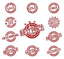 Vendita di francobolli