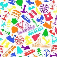 Il parco di divertimenti guida il modello senza cuciture