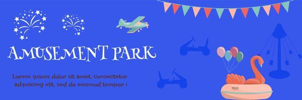 manifesto del parco di divertimenti