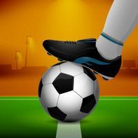 Pallone da calcio e tacchetti