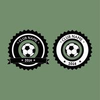 logo del club di calcio vettore