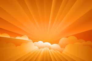 vettore dell'illustrazione di alba dello sprazzo di sole