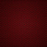 illustrazione vettoriale di sfondo senza soluzione di continuità in fibra di carbonio rosso