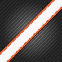 Nero elegante semplice astratto con linee diagonali