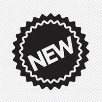 nuovo segno simbolo icona