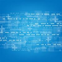 Il mondo digitale ha una ricchezza di informazioni e sistemi complessi. vettore