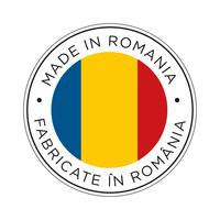 made in romania flag icon.
