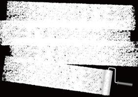 Dipinga il fondo astratto del rullo con lo spazio del testo. vettore