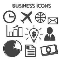 simbolo di icone di affari vettore