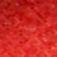 Modello di mattonelle del tetto rosso, modelli di design creativo vettore