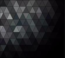 Sfondo mosaico griglia quadrata nera, modelli di design creativo