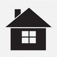 Segno simbolo icona casa