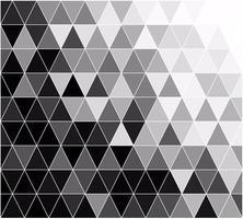 Priorità bassa del mosaico di griglia nera, modelli di design creativo vettore