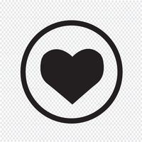 Segno simbolo icona del cuore