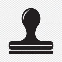 Timbro simbolo segno simbolo vettore