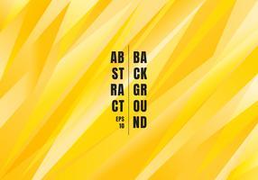 Fondo poligonale di colore giallo brillante astratto. Triangoli di modello creativo per l'uso in design, copertina, banner web, flyer, brochure, poster. eccetera. vettore