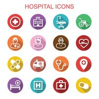 icone di ombra lunga ospedale