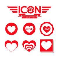 Segno simbolo icona cuore