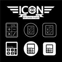 Calcolatrice Icona simbolo segno