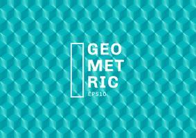 I poligoni verdi astratti del turchese 3D modellano il fondo e la struttura. I triangoli geometrici formano il colore blu. È possibile utilizzare per il modello di copertina, libro, sito Web, banner, pubblicità, poster, ecc. vettore